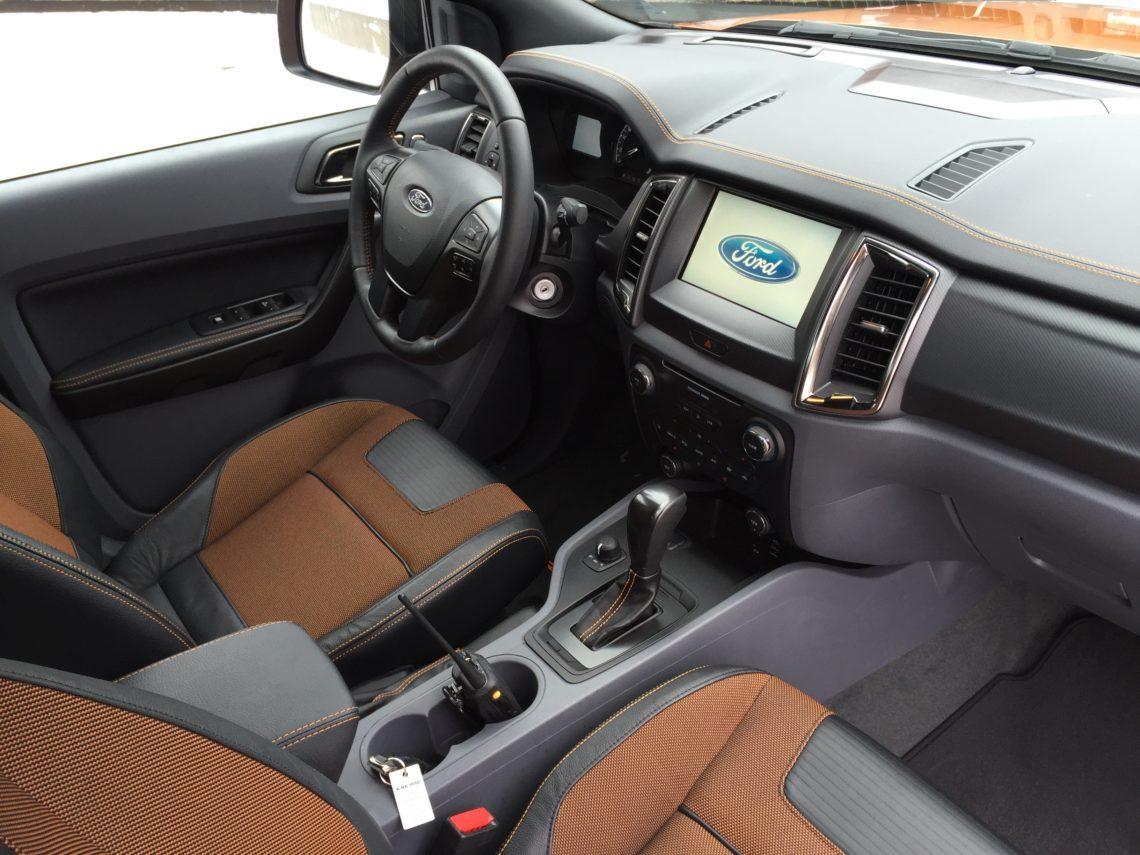 4x4Schweiz News Der Neue Ford Ranger Pick Up Interior Und Cockpit
