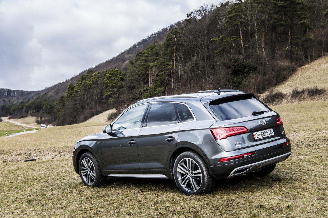 Der Neue Audi Q5 2017 4x4schweiz