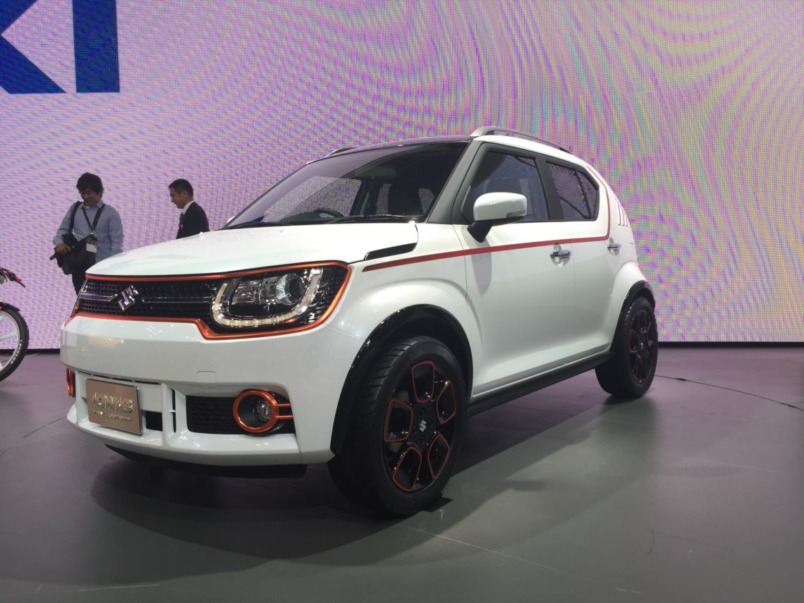 Der Ignis Erganzt Das SUV Angebot Bei Suzuki
